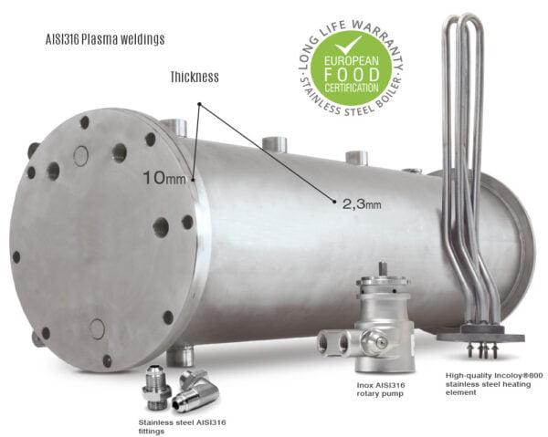 Ascaso boiler